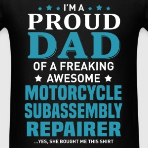 Motorcycle Subassembly Repairer's Dad - Men's T-Shirt