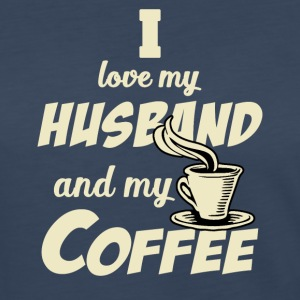 Husband and coffee Long Sleeve Shirts - Women's Premium Long Sleeve T-Shirt
