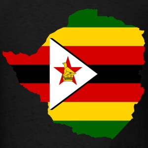 Zimbabwe Flag - Men's T-Shirt