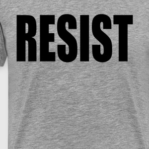 RESIST T-Shirts - Men's Premium T-Shirt