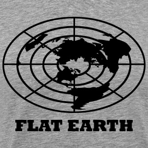 Flat Earth T-Shirts - Men's Premium T-Shirt
