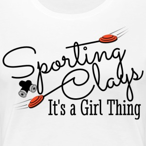 Sporting Clays Shirts - Women's Premium T-Shirt