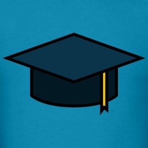 Graduation Cap - Men's T-Shirt