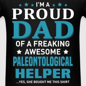 Paleontological Helper's Dad - Men's T-Shirt