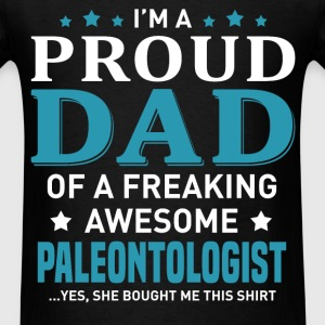 Paleontologist's Dad - Men's T-Shirt