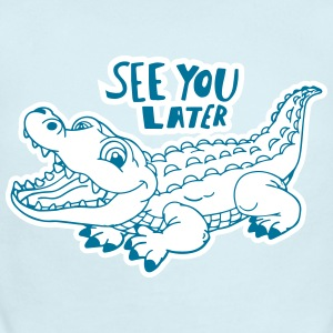 Alligator Baby Bodysuits - Short Sleeve Baby Bodysuit