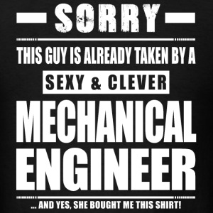 Guy Taken - Mechanical Engineer Shirt Gift T-Shirts - Men's T-Shirt