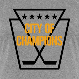 Pittsburgh Hockey T-Shirts - Women's Premium T-Shirt