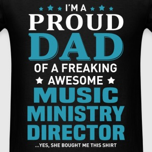 Music Ministry Director's Dad - Men's T-Shirt