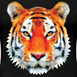 Low poly tiger tshirt - Women's Premium T-Shirt