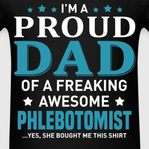 Phlebotomist's Dad - Men's T-Shirt