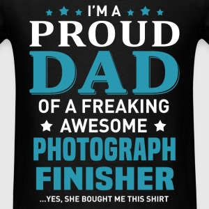 Photograph Finisher's Dad - Men's T-Shirt