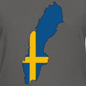 Sweden Map - Women's T-Shirt