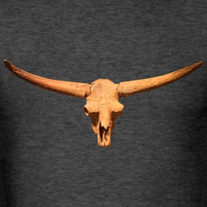 Bison Skull Head - Men's T-Shirt