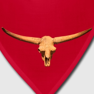 Bison Skull Head - Bandana