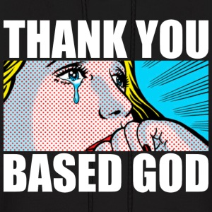 Thank You Based God Hoodies - Men's Hoodie