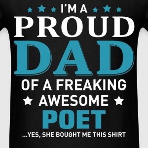 Poet's Dad - Men's T-Shirt