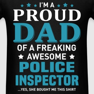 Police Inspector's Dad - Men's T-Shirt