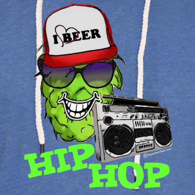 HIP HOP Unisex Lightweight Terry Hoodie