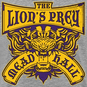 Lion's Prey Mead Hall - Men's Premium T-Shirt