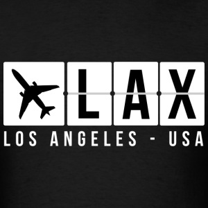 Los Angeles Airport Code T-Shirts - Men's T-Shirt
