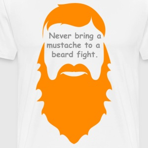 Beard Fight - Men's Premium T-Shirt
