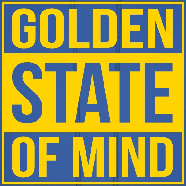 golden state of mind Hoodies - Men's Hoodie
