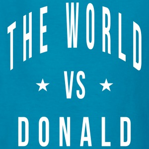 the world vs donald Kids' Shirts - Kids' T-Shirt