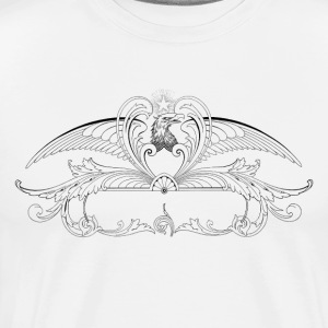 Eagle Monogram - Men's Premium T-Shirt
