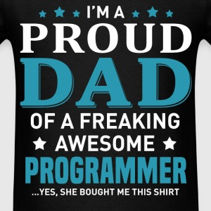 Programmer's Dad - Men's T-Shirt