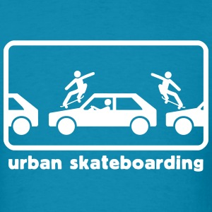 urban skateboarding T-Shirts - Men's T-Shirt