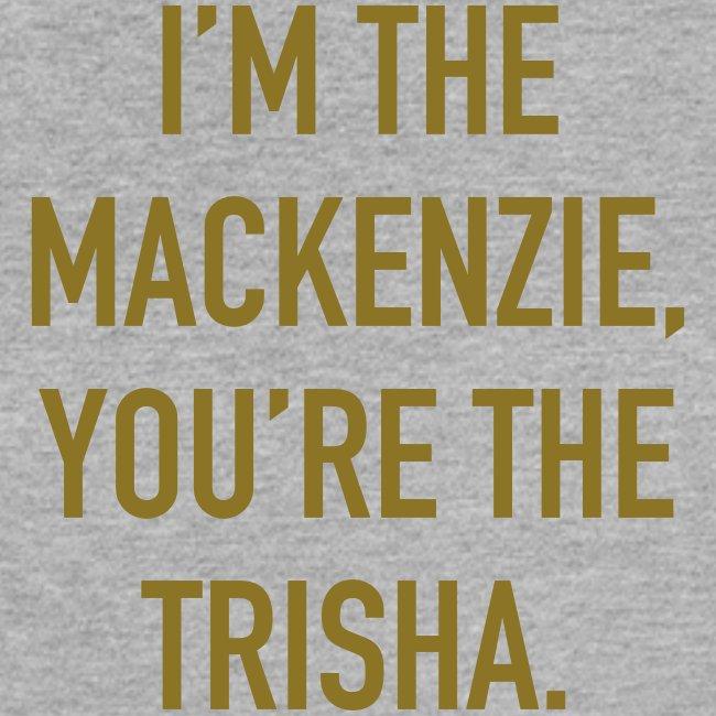 Women's GOLD VINYL Mackenzie Trisha Muscle Tee