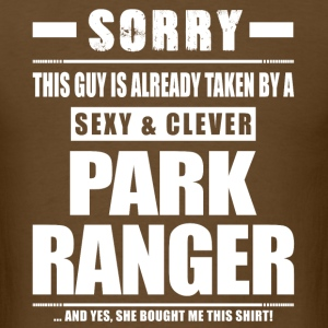 Guy Taken - Park Ranger Shirt Gift T-Shirts - Men's T-Shirt
