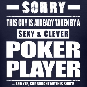 Guy Taken - Poker Player Shirt Gift T-Shirts - Men's T-Shirt
