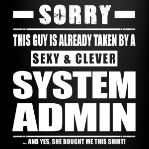 Guy Taken - System Admin Shirt Gift Mugs & Drinkware - Full Color Mug