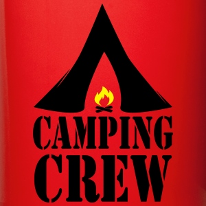 Camping Crew Camp Tent Fire Campfire 2c Mugs & Drinkware - Full Color Mug
