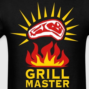 Grill Master Barbecue BBQ grilled men's T-Shirt - Men's T-Shirt