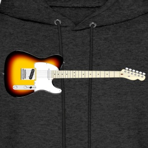Electric Guitar  - Men's Hoodie