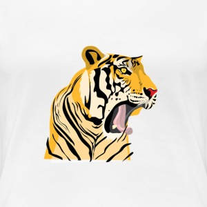 Tiger Roar - Women's Premium T-Shirt