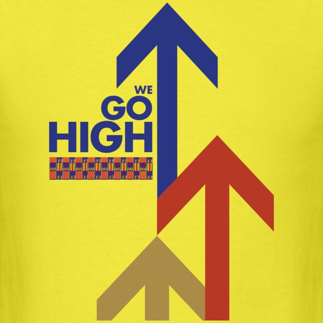 We Go High (Red & Blue)