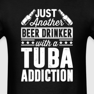 Beer & Tuba Addiction T-Shirts - Men's T-Shirt