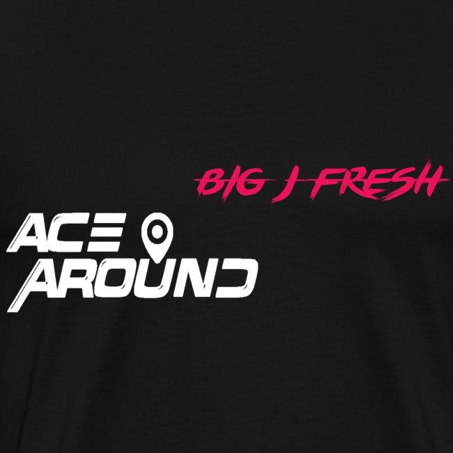 BIG J FRESH & ACEAROUNDTHEBEAT SHIRT BLACK