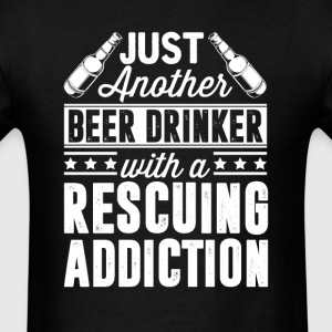 Beer & Rescuing Addiction T-Shirts - Men's T-Shirt