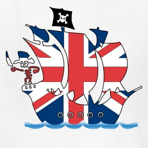 pirate_ship_uk Kids' Shirts - Kids' T-Shirt