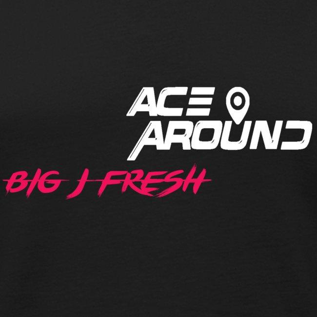 BIG J FRESH & ACEAROUNDTHEBEAT TANK BLACK