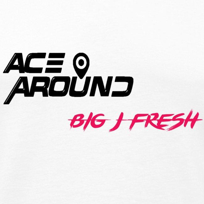 BIG J FRESH & ACEAROUNDTHEBEAT TANK WHITE