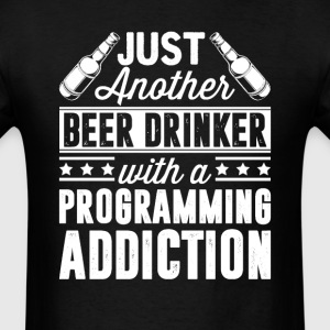 Beer & Programming Addiction T-Shirts - Men's T-Shirt