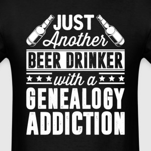Beer & Genealogy Addiction T-Shirts - Men's T-Shirt