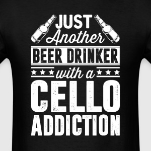 Beer & Cello Addiction T-Shirts - Men's T-Shirt