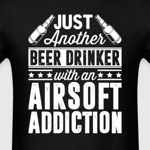 Beer & Airsoft Addiction T-Shirts - Men's T-Shirt